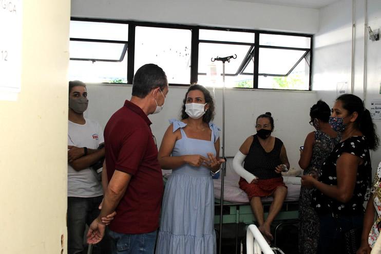 Prefeita faz nova vistoria ao Hospital Regional de Eunápolis 38