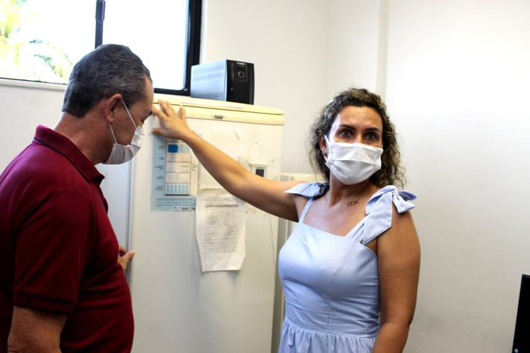 Prefeita faz nova vistoria ao Hospital Regional de Eunápolis 45