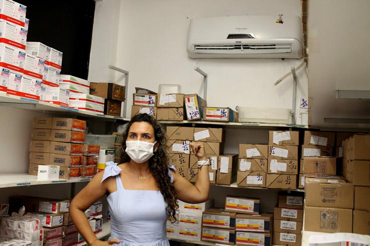 Prefeita faz nova vistoria ao Hospital Regional de Eunápolis 41