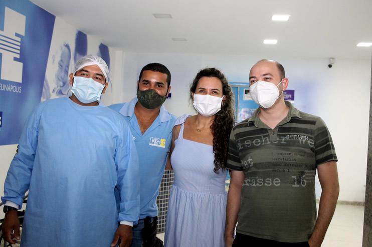 Prefeita faz nova vistoria ao Hospital Regional de Eunápolis 48