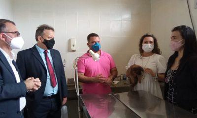 Eunápolis - Representantes do Ministério Público do Trabalho são recebidos pela prefeita Cordélia em visita ao CCZ 34