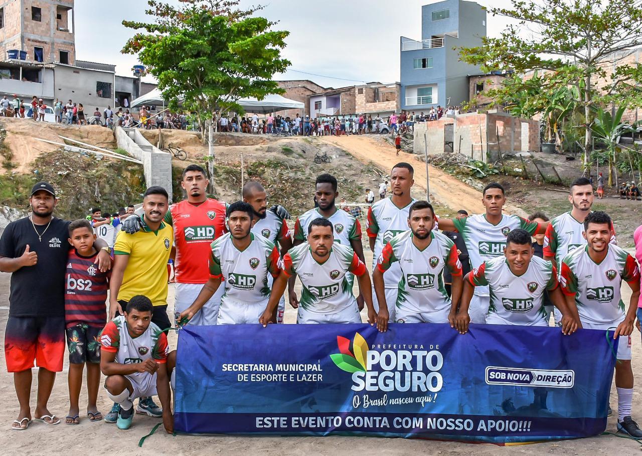 Porto Seguro: A final da Copa Casas Novas aconteceu na tarde deste sábado, 6/2, no Campo Caldeirão 25