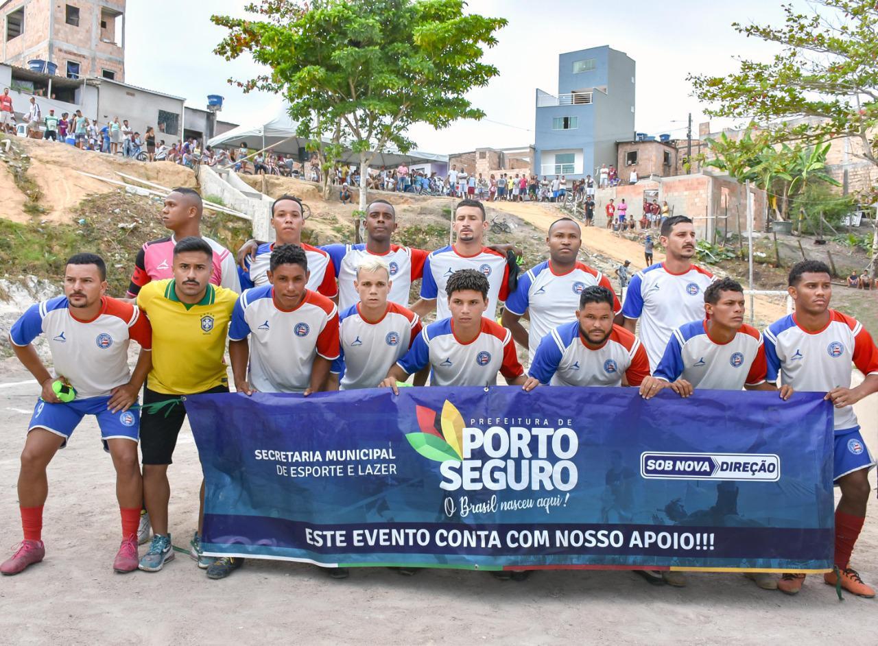 Porto Seguro: A final da Copa Casas Novas aconteceu na tarde deste sábado, 6/2, no Campo Caldeirão 28