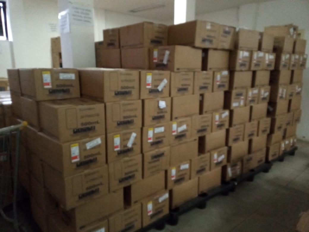 Eunápolis recebe medicamentos para a rede municipal de Saúde 22