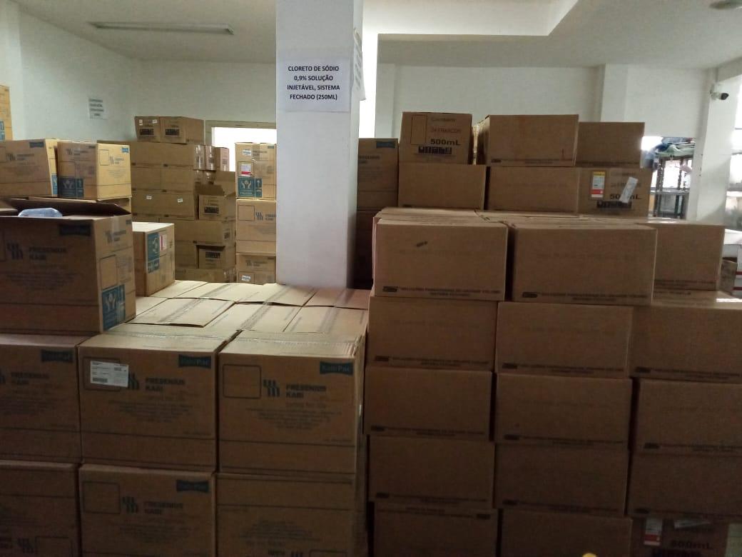 Eunápolis recebe medicamentos para a rede municipal de Saúde 29