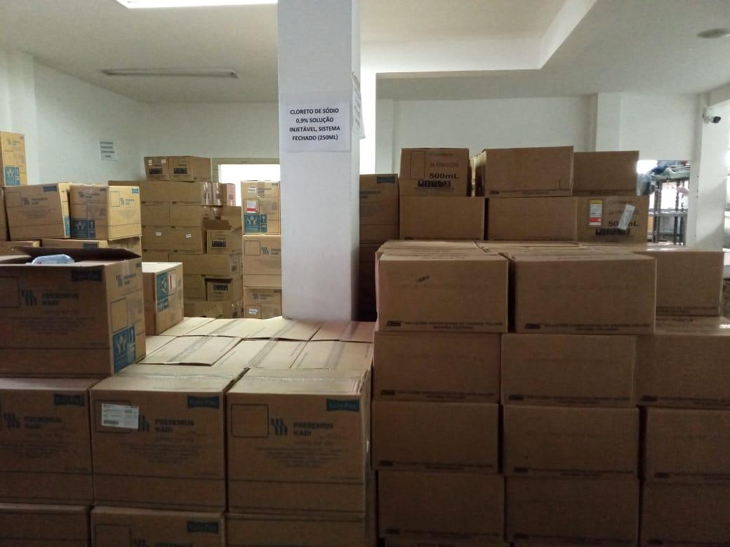 Eunápolis recebe medicamentos para a rede municipal de Saúde 26