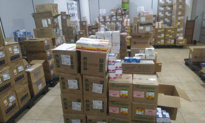 Eunápolis recebe medicamentos para a rede municipal de Saúde 44