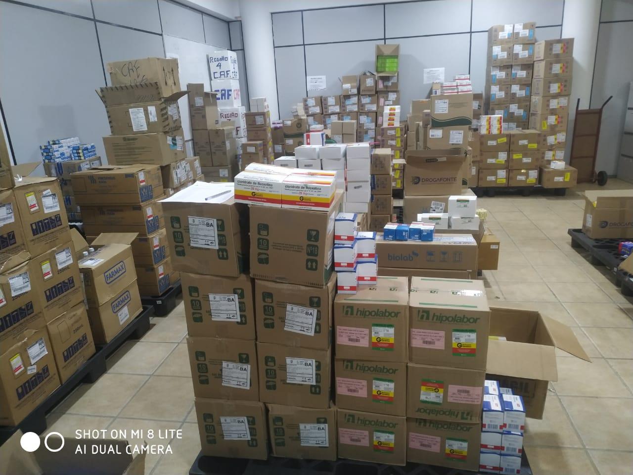 Eunápolis recebe medicamentos para a rede municipal de Saúde 20