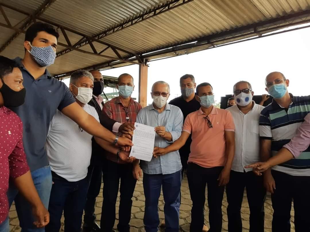 Camacã: Ordem de serviço da reforma da feira livre de São João do Panelinha é assinada 27