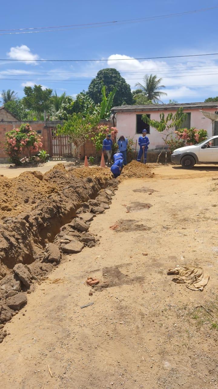 Moradores do Nova Vitória, no distrito Colônia, em Eunápolis, terão água encanada 26