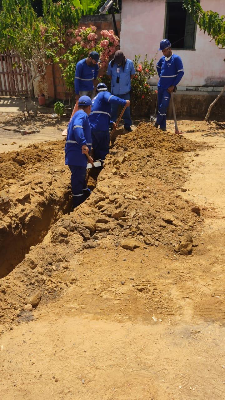 Moradores do Nova Vitória, no distrito Colônia, em Eunápolis, terão água encanada 27