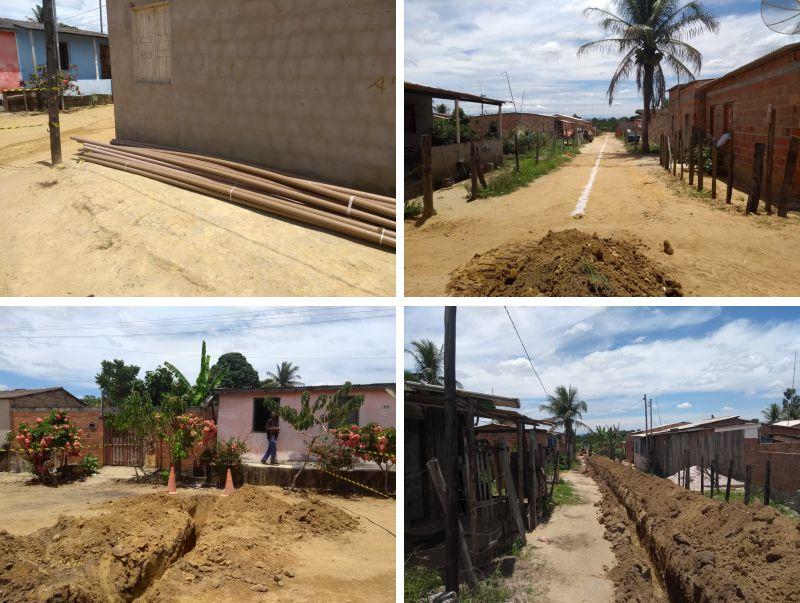 Moradores do Nova Vitória, no distrito Colônia, em Eunápolis, terão água encanada 24