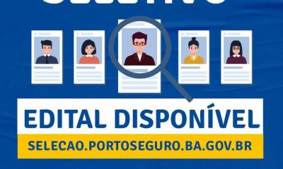 Prefeitura de Porto Seguro, abre Processos Seletivos com disponibilidade de 1406 vagas em diversas áreas 28