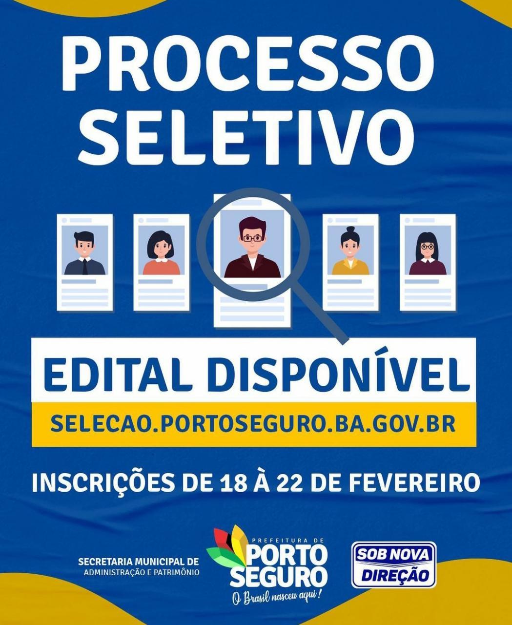 Prefeitura de Porto Seguro, abre Processos Seletivos com disponibilidade de 1406 vagas em diversas áreas 18