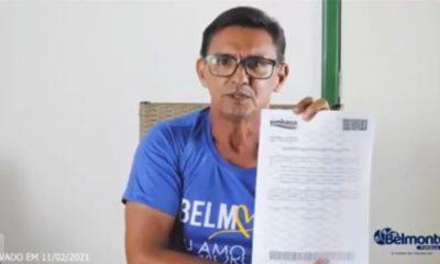 Belmonte: Prefeito Bebeto fala dos seus primeiros dias e mostra conta de quase R$ 2,7 Milhões herdada de gestões anteriores. 25