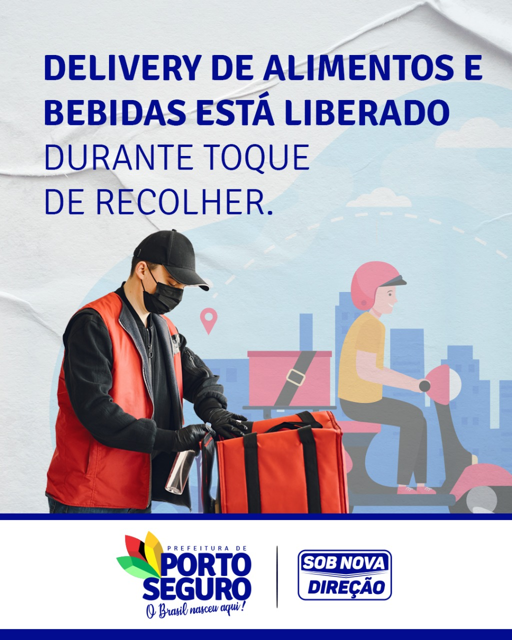 Porto Seguro: Delivery de alimentos e bebidas está liberado durante toque de recolher 18
