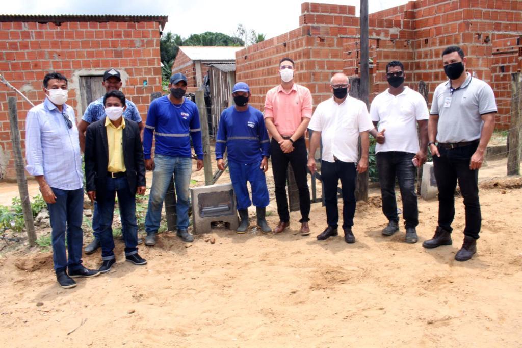Água encanada já é realidade no bairro Nova Vitória, no distrito Colônia, em Eunápolis 20