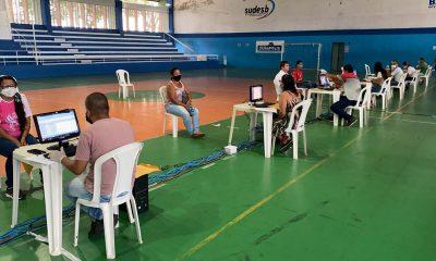 Segurança e organização marcaram o primeiro dia de recadastramento dos servidores da Prefeitura de Eunápolis 17