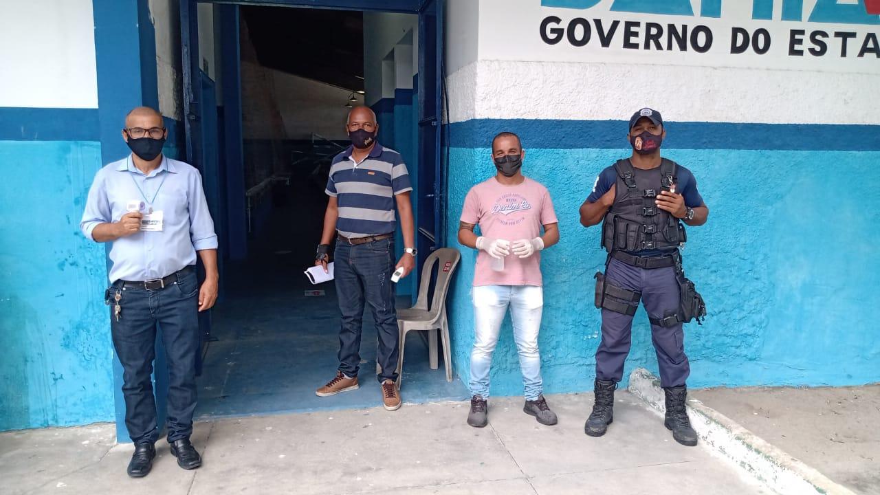 Segurança e organização marcaram o primeiro dia de recadastramento dos servidores da Prefeitura de Eunápolis 24