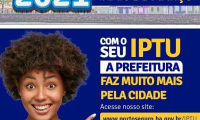 Porto Seguro: Contribuintes já podem pagar IPTU 2021 com desconto 10