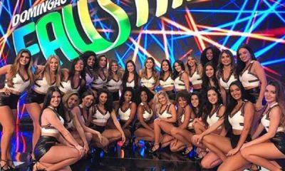 Domingão do Faustão promove corte entre bailarinas e demite metade do grupo 19
