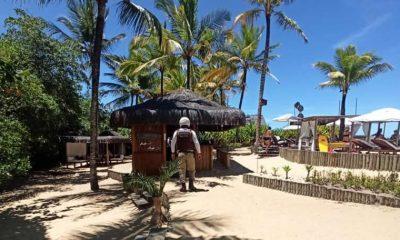 Eventos em praias de Cabrália, Trancoso e Arraial D'Ajuda são cancelados pela PM e Vigilância Sanitária. 27