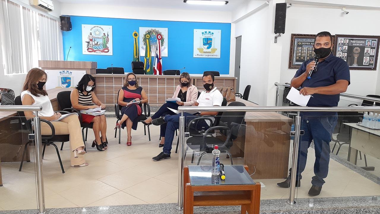 Itabela: Aconteceu na Câmara de Vereadores reunião de esclarecimentos em relação as últimas atualizações do Regime Próprio (CAPREMI) 24