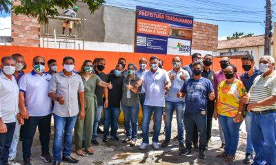 Prefeito Jânio Natal acompanha obras do Hospital de Referência para Covid-19 e outras ações em Arraial d´Ajuda 24