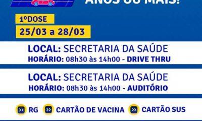 Em Porto Seguro, a ordem é vacinar 26