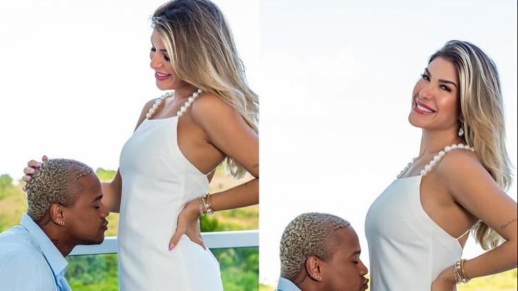 Léo Santana e Lore Improta anunciam gravidez: 'Baby GG na área' 18