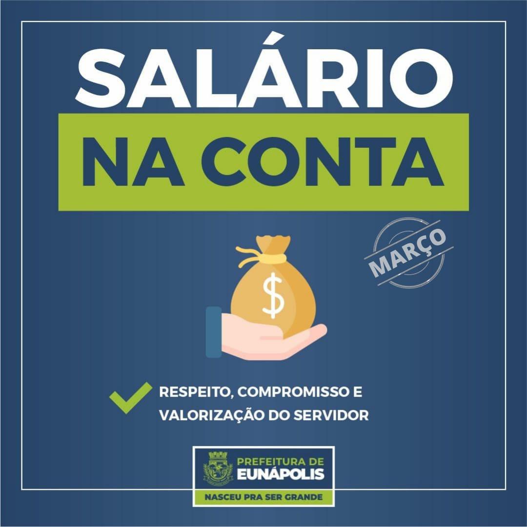 Prefeitura de Eunápolis comunica sobre o pagamento do salário dos servidores 18