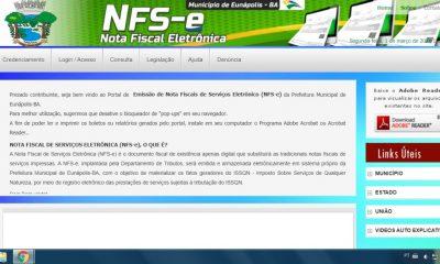 Prefeitura de Eunápolis lança novo sistema tributário e de emissão de nota fiscal eletrônica 7