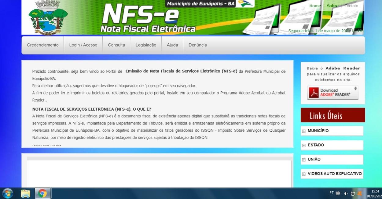 Prefeitura de Eunápolis lança novo sistema tributário e de emissão de nota fiscal eletrônica 20