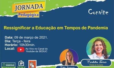 Jornada pedagógica abre ano letivo, em Eunápolis 8