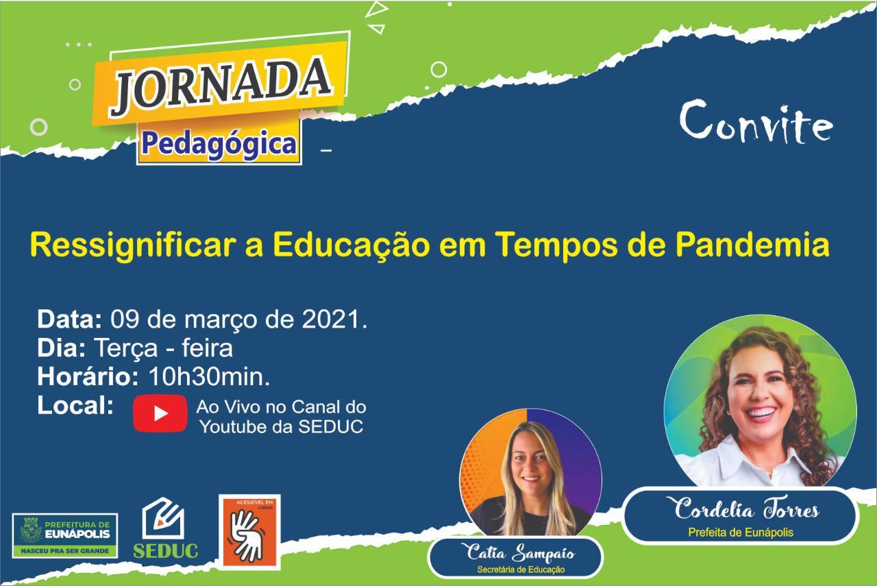 Jornada pedagógica abre ano letivo, em Eunápolis 18