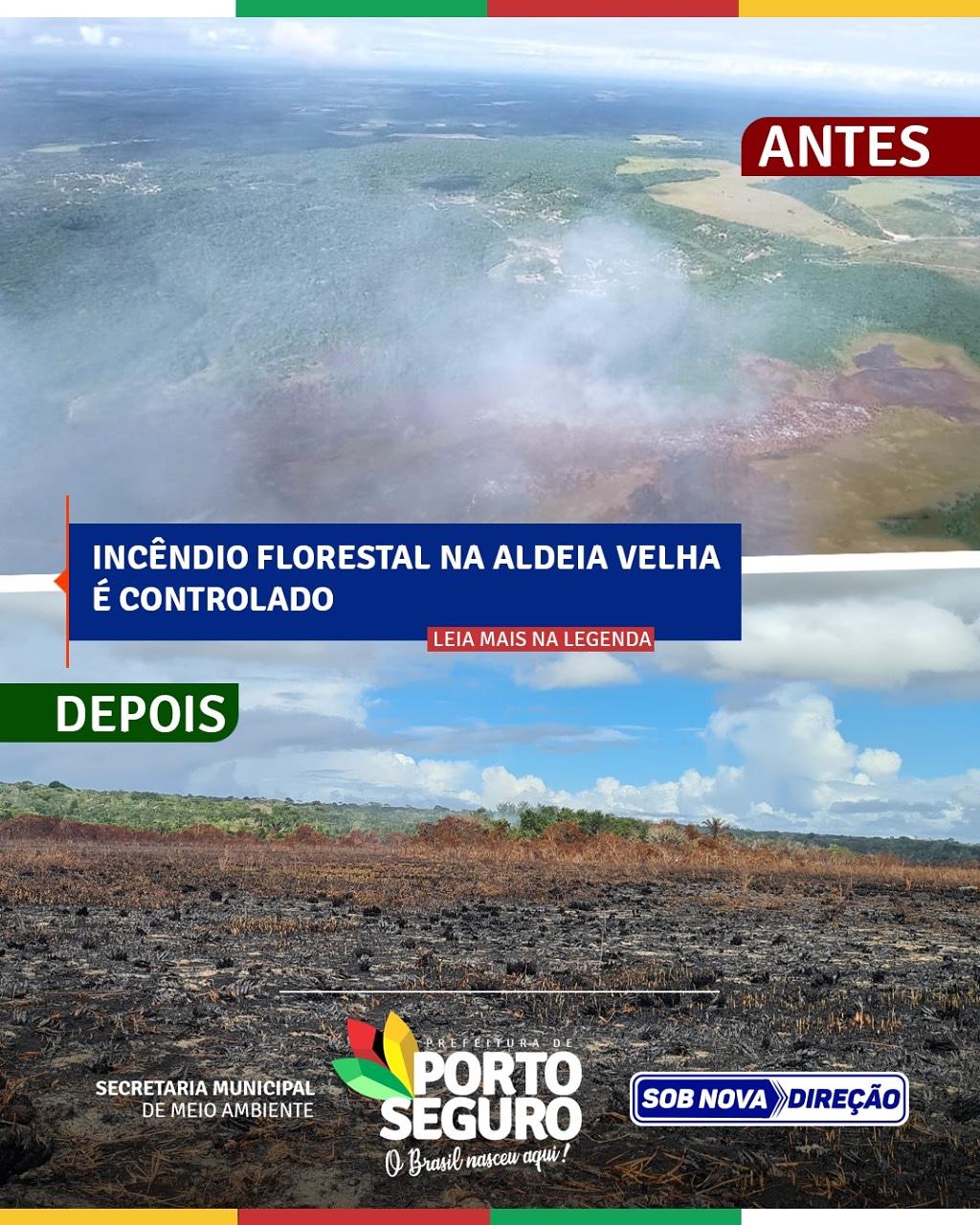Incêndio florestal na Aldeia Velha é controlado 18