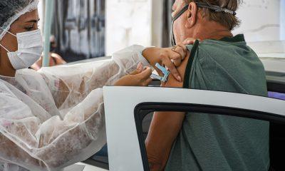 Drive thru 70 anos ou mais - Terra Mãe do Brasil Vacinada 19