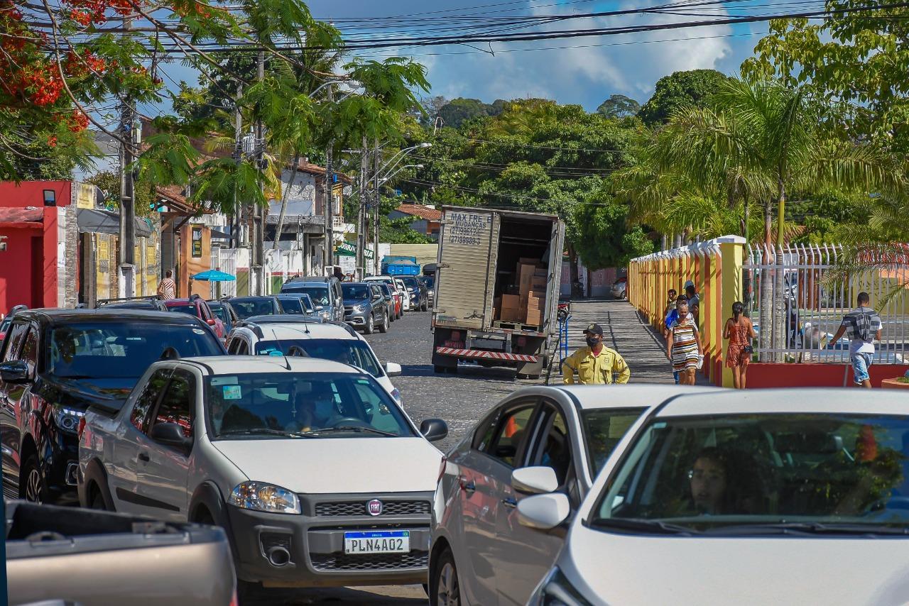 Drive thru 70 anos ou mais - Terra Mãe do Brasil Vacinada 26