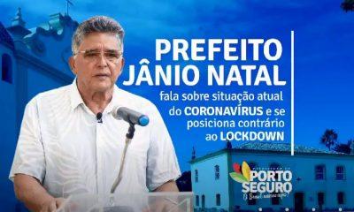 Porto Seguro: Prefeito Jânio Natal fala sobre situação atual do Coronavírus e se posiciona contrário ao lockdown 57