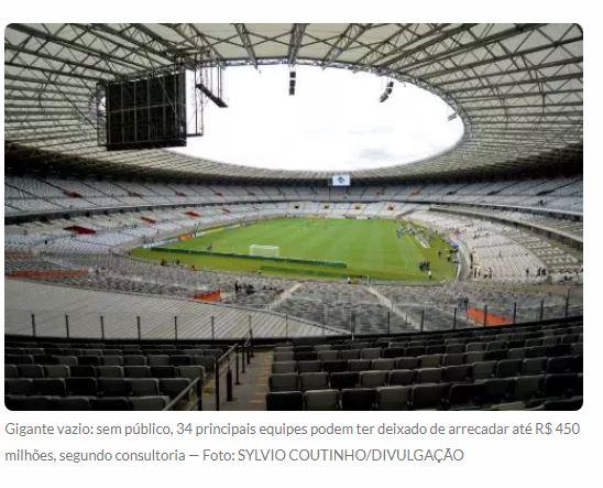 Pela pandemia, futebol completa um ano sem torcida nos estádios brasileiros 18