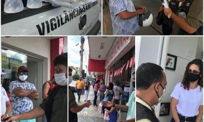 Vigilância Sanitária faz ação educativa no comércio, em Eunápolis 21