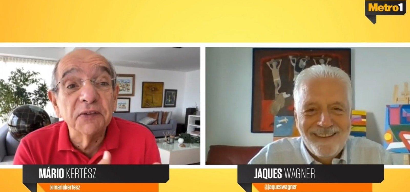 """""""Meu nome tá colocado"""", diz Wagner sobre campanha ao governo da Bahia 18"""