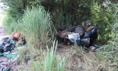 Cinco pessoas morrem durante grave acidente em Eunápolis 86