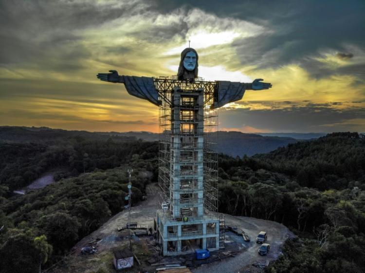 Brasil terá um novo Cristo gigante, mais alto que o do Rio 18