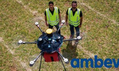 Ambev implementa 5g no Brasil para fazer delivery de bebidas via drone 9