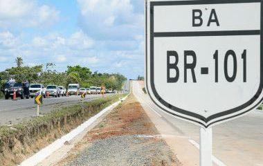 Ministro promete entrega de 51 km de duplicação da BR-101 na Bahia até fim do ano 25