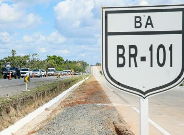 Ministro promete entrega de 51 km de duplicação da BR-101 na Bahia até fim do ano 18