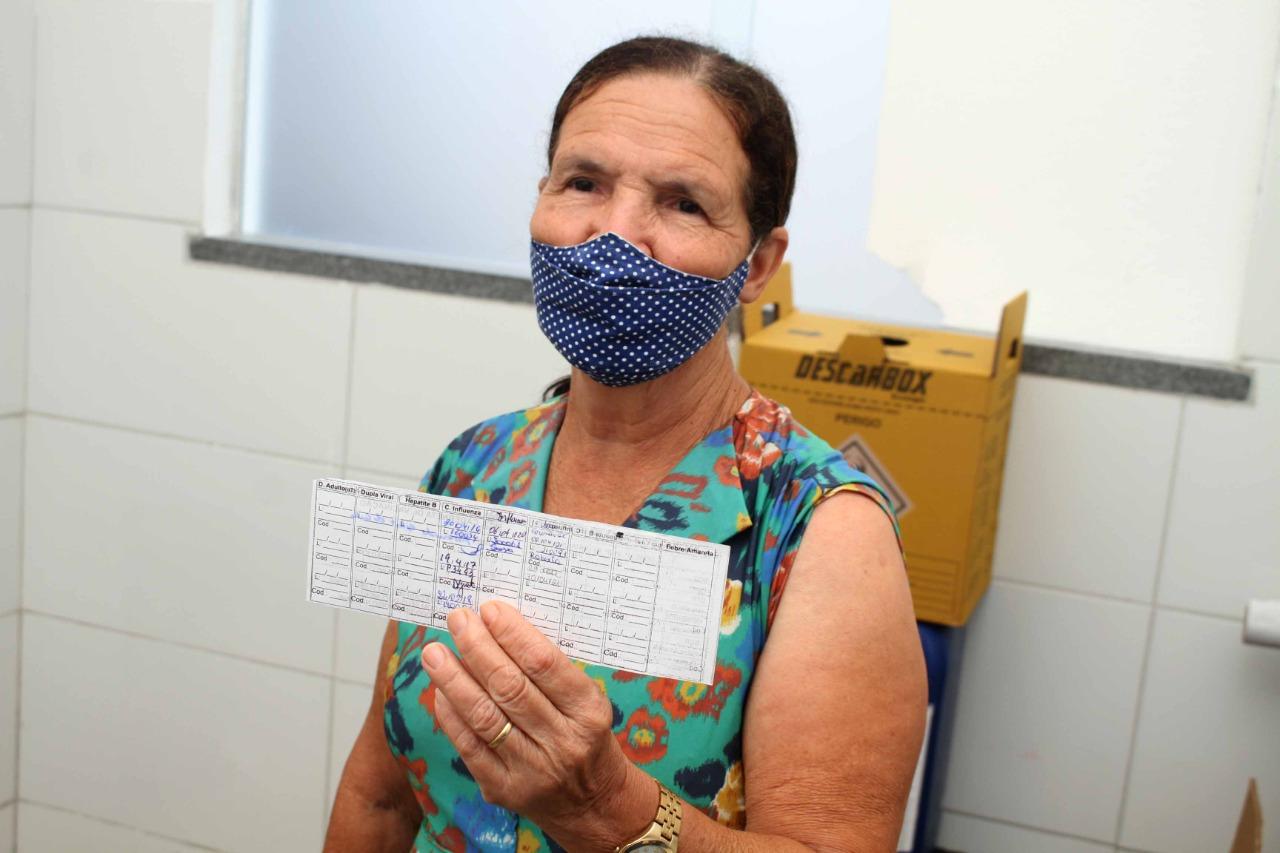 Idosos acima de 68 anos: nova faixa etária começa a ser vacinada amanhã, em Eunápolis 27