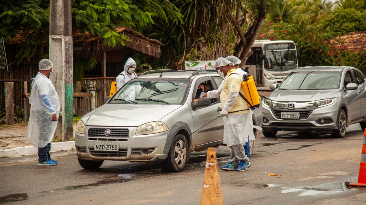 PORTO SEGURO: Barreiras sanitárias; cuidando ainda mais de você! 23