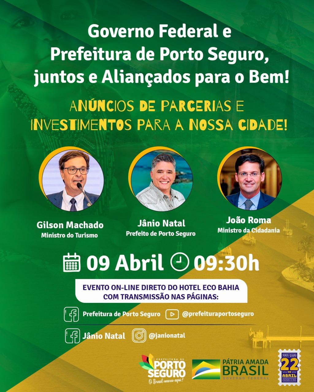Governo Federal e Prefeitura de Porto Seguro, juntos e aliançados para o bem 18
